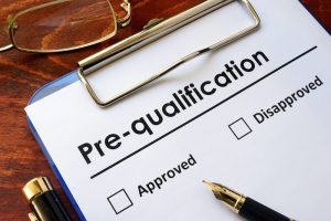 Pre-Qualification for Mortgage