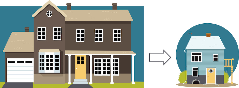 Downsize Real Estate Mortgage