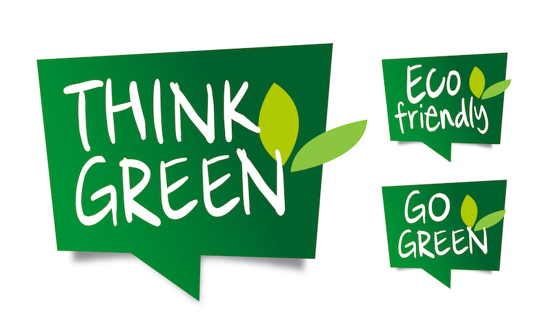 Going Green Eco Friendly